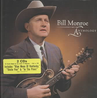 ANTHOLOGY BY MONROE,BILL (CD)