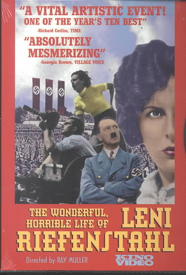 WONDERFUL HORRIBLE LIFE OF LENI RIEFE BY RIEFENSTAHL,LENI (DVD)