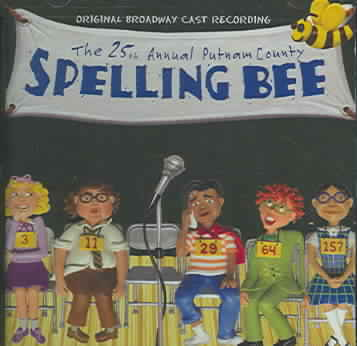 25TH ANNUAL PUTNAM COUNTY SPELLING BY ORIGINAL CAST (CD)